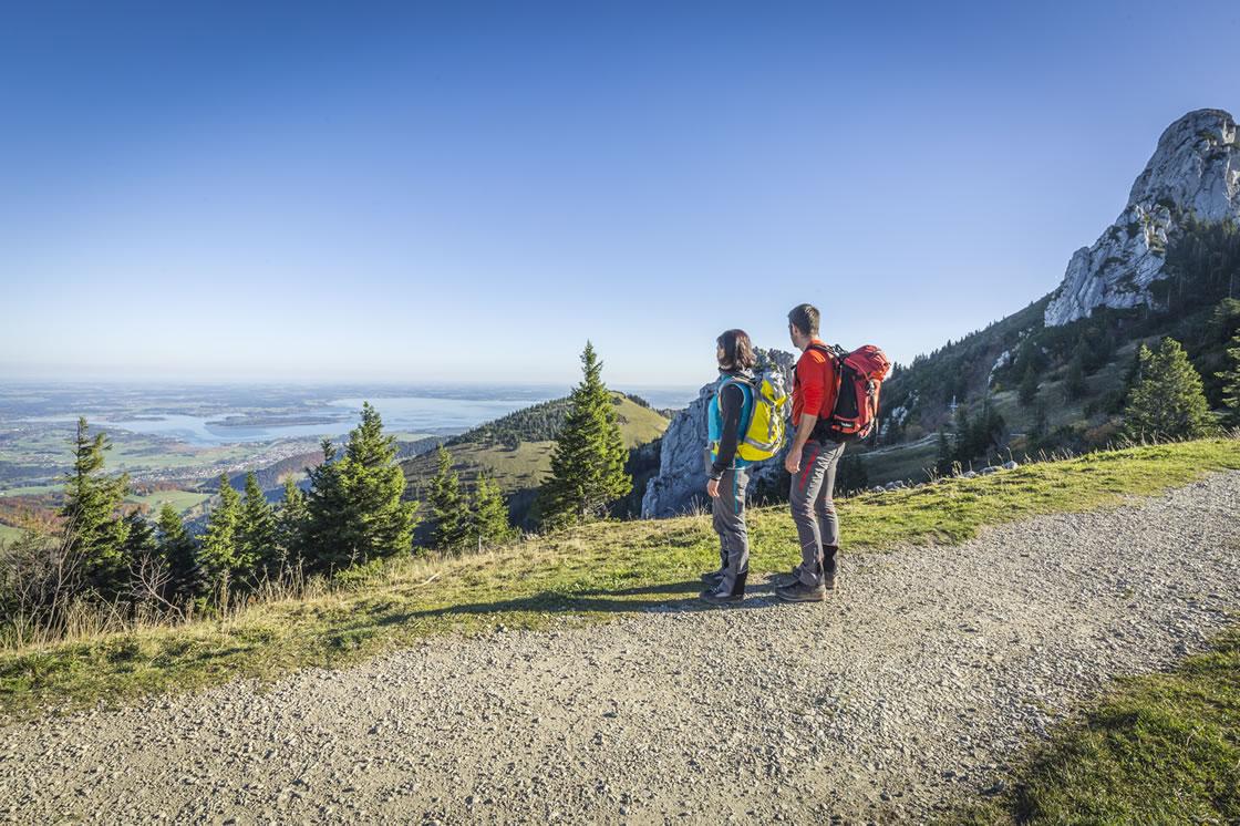 chiemsee alpenland wandern