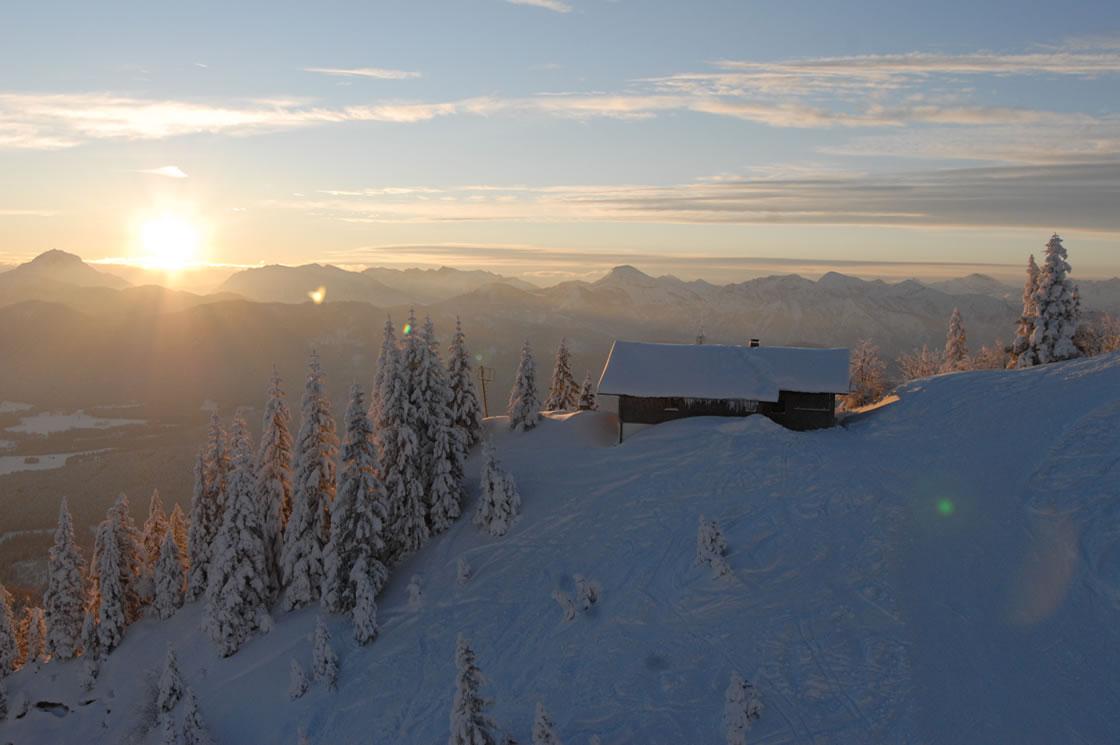 Lenggries Winterurlaub