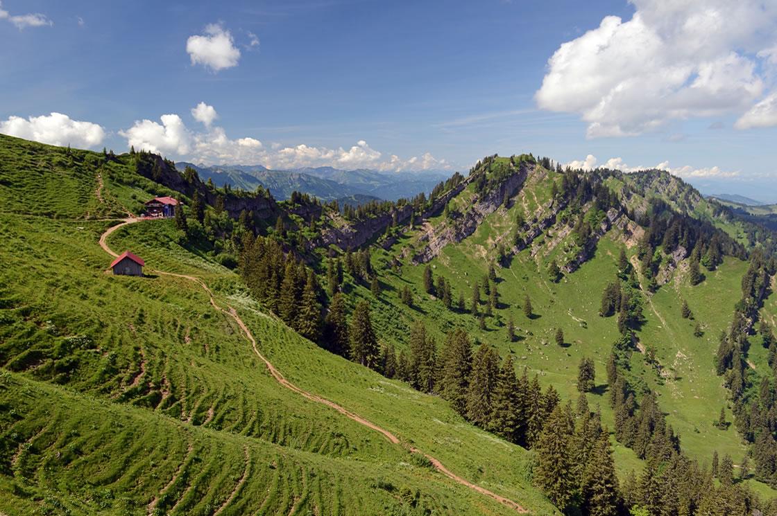 Naturpark Nagelfluhkette Wanderwege