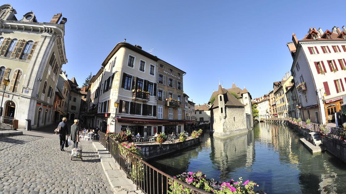 Frankreich_Annecy_historische Altstadt