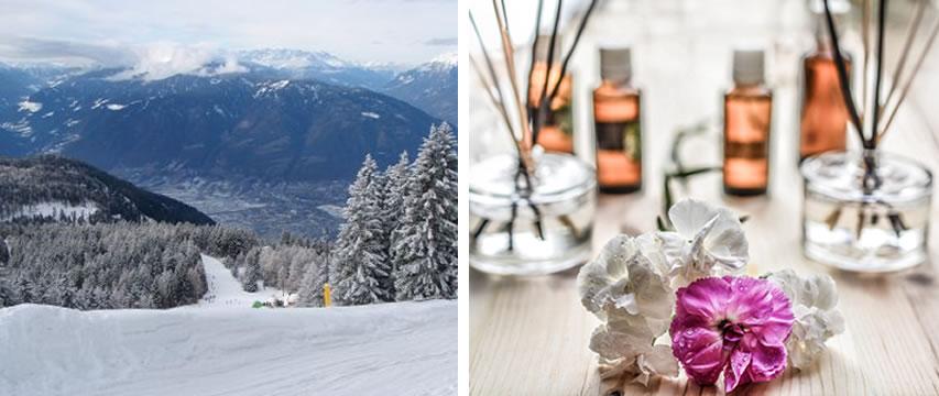 Skifahren und Wellness in Südtirol