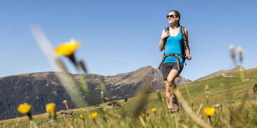 Sommerferien in den Bergen in Südtirol