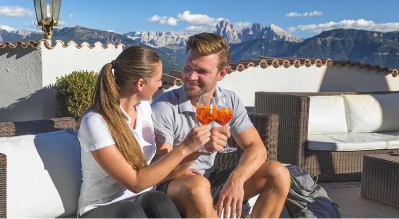 Sommerurlaub in den Bergen in Südtirol Hotel Samberger Hof