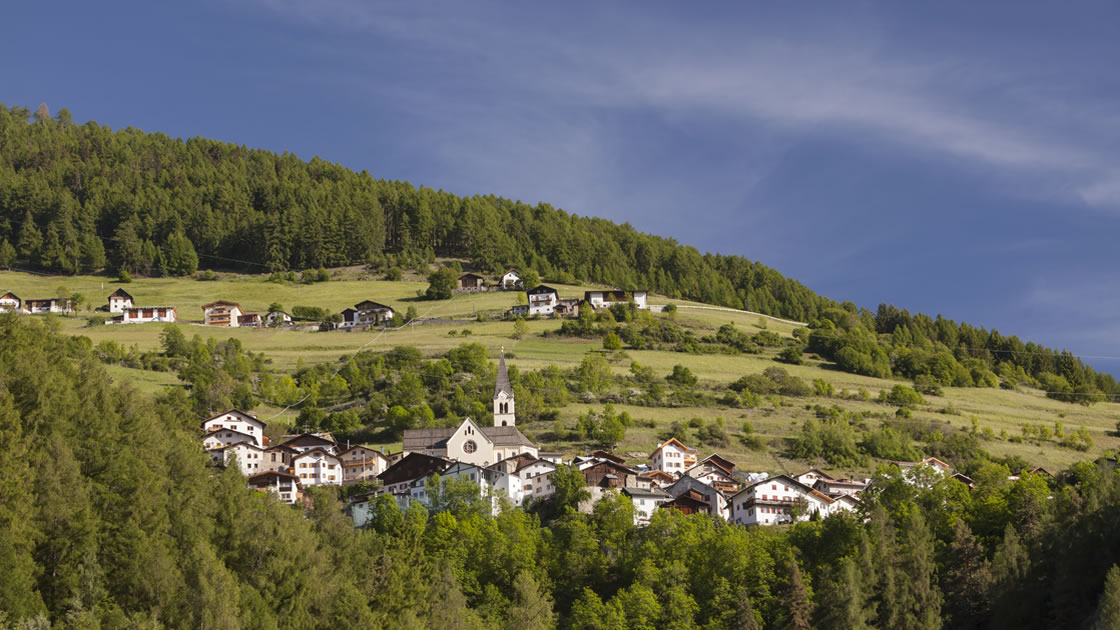 Wandern im Südtiroler Vinschgau