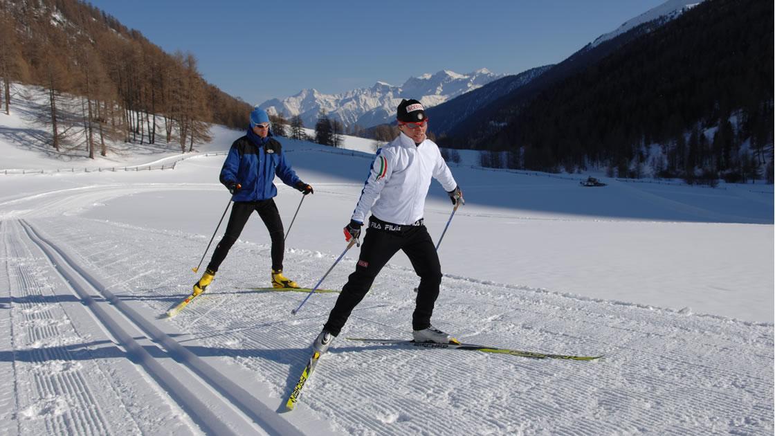 Skilanglaufen in Südtirol