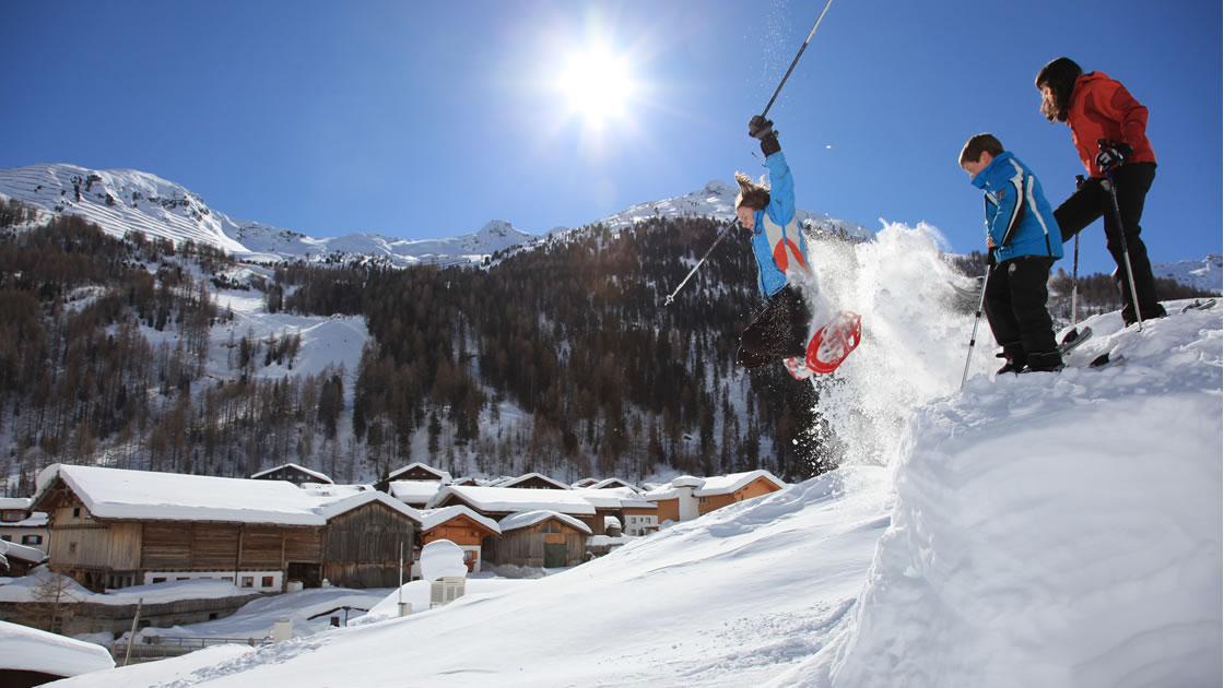 Winterurlaub in Südtirol