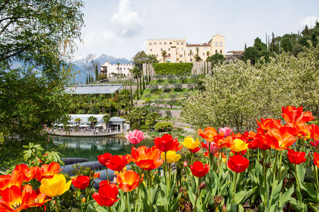 Gärten von Schloss Trauttmansdorff