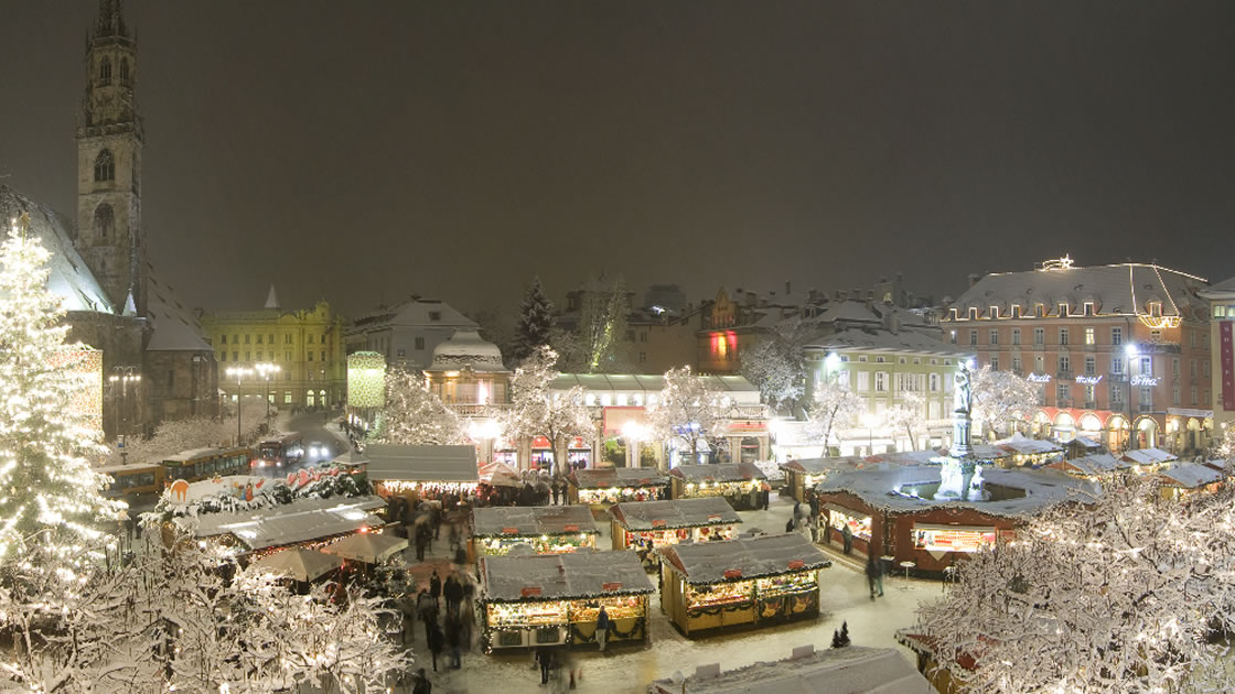 Christkindlmarkt in Bozen