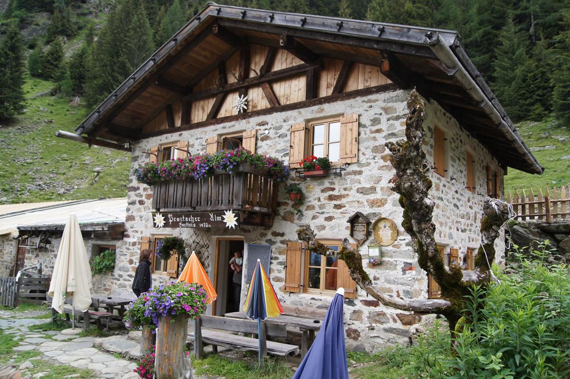 Wanderurlaub Südtirol, auf gehts zur Prantacher Alm