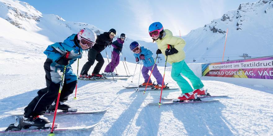 Skiurlaub mit der Familie, Hotel direkt an der Piste