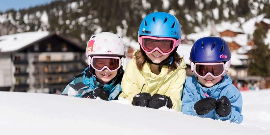 Skiurlaub mit Kids Alpen