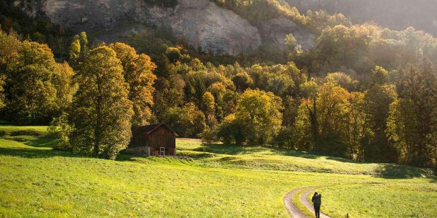 Wandern auf dem Liechtenstein Weg
