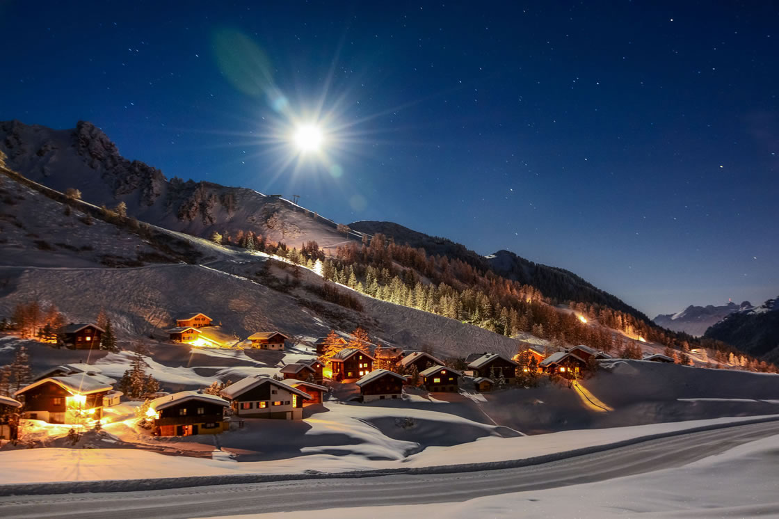 Weihnachtsmärkte in den Alpen, Liechtenstein