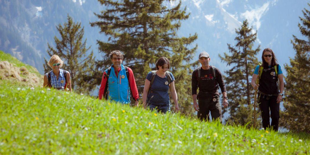 wandern mit Bergführer in Liechtenstein
