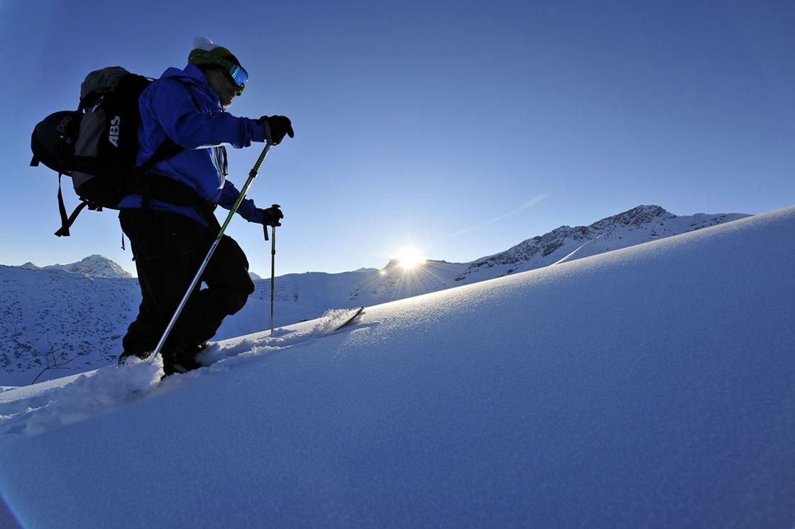 Skitouren Alpen Fürstentum Liechtenstein