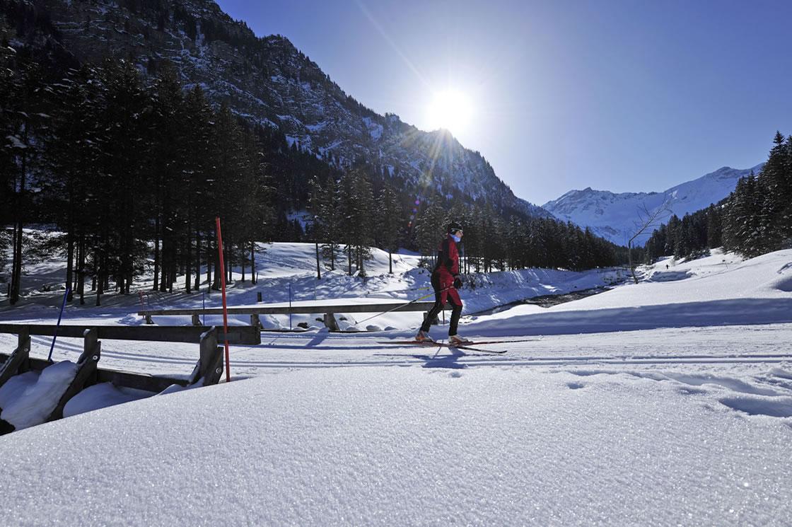 Langlauf Alpen Fürstentum Liechtenstein