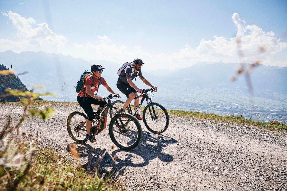 mountainbike tour liechtenstein