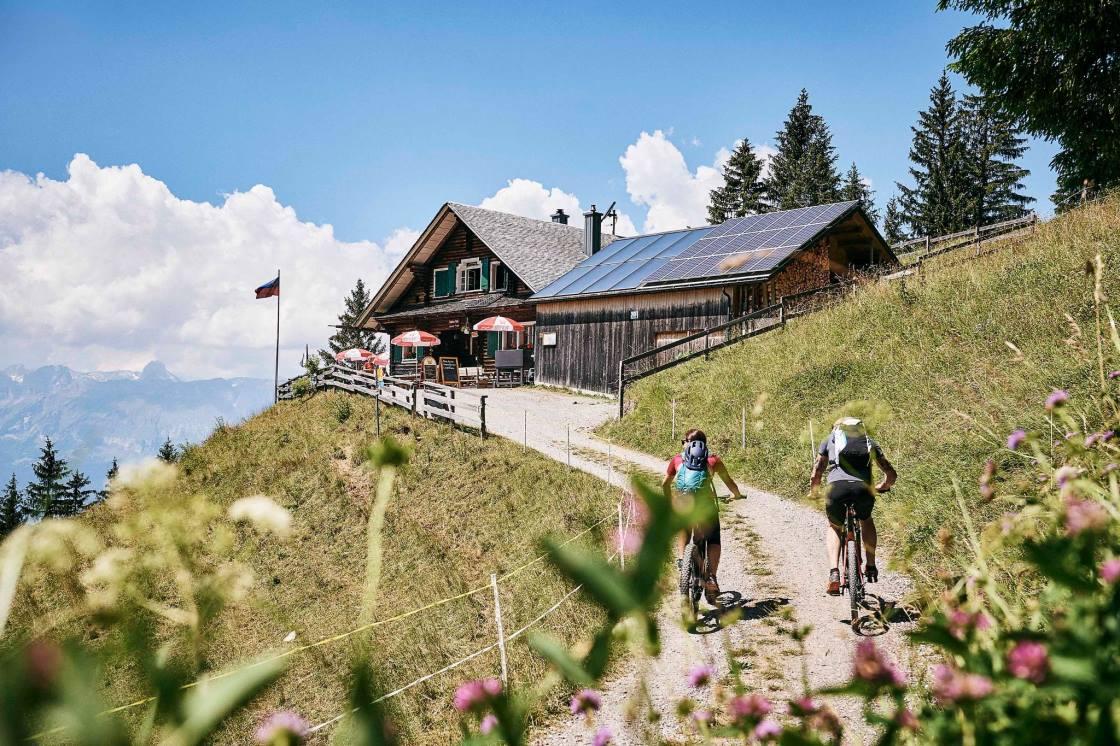 Mountainbike Tour Gafadura Liechtenstein
