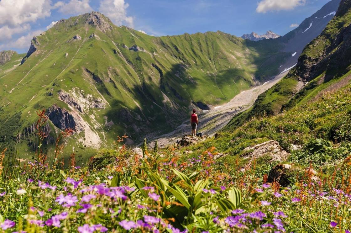 Mountainbike Tour Lawenatal Liechtenstein