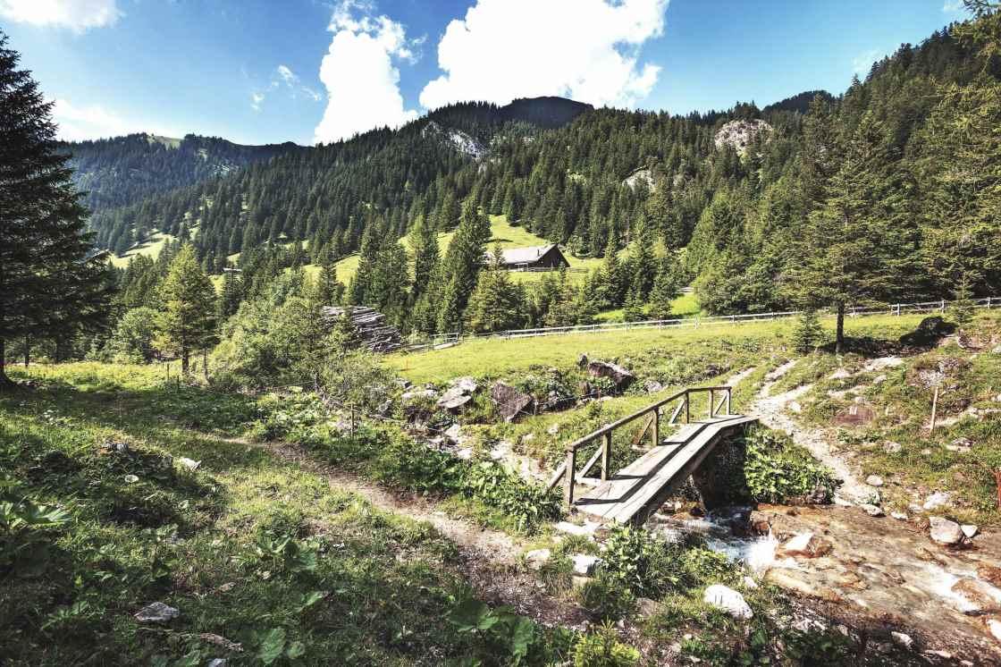 Mountainbiken Valorschtal Liechtenstein