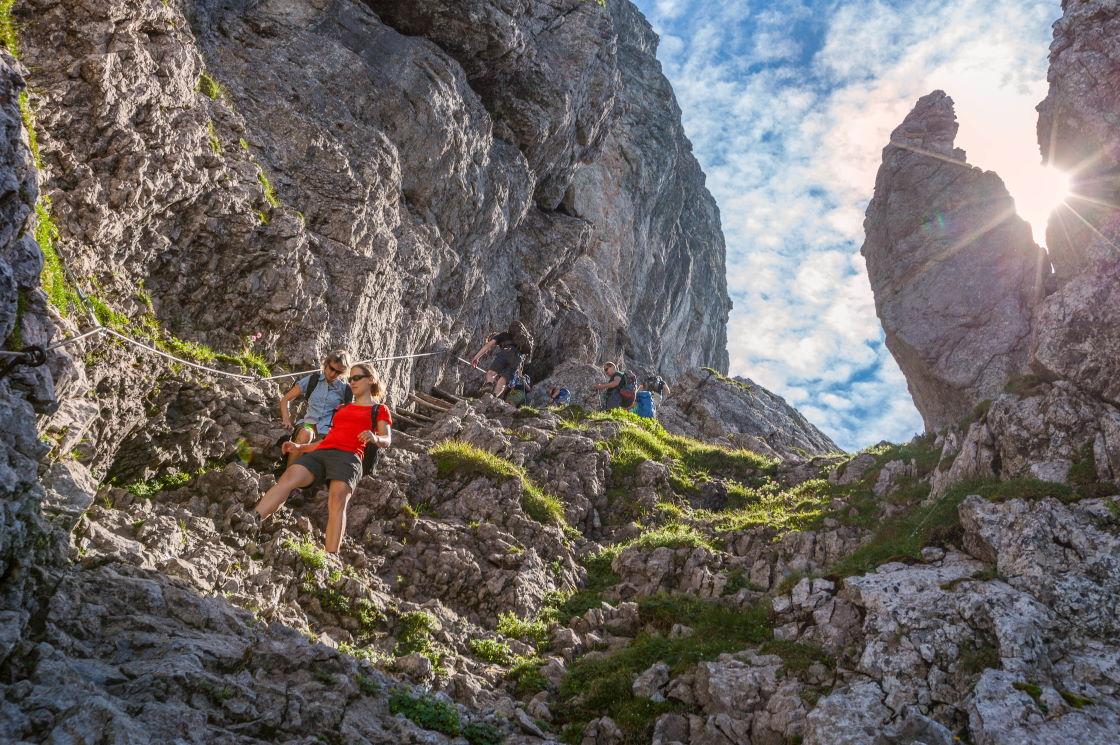 Outdoor Erlebnisse Alpen Liechtenstein