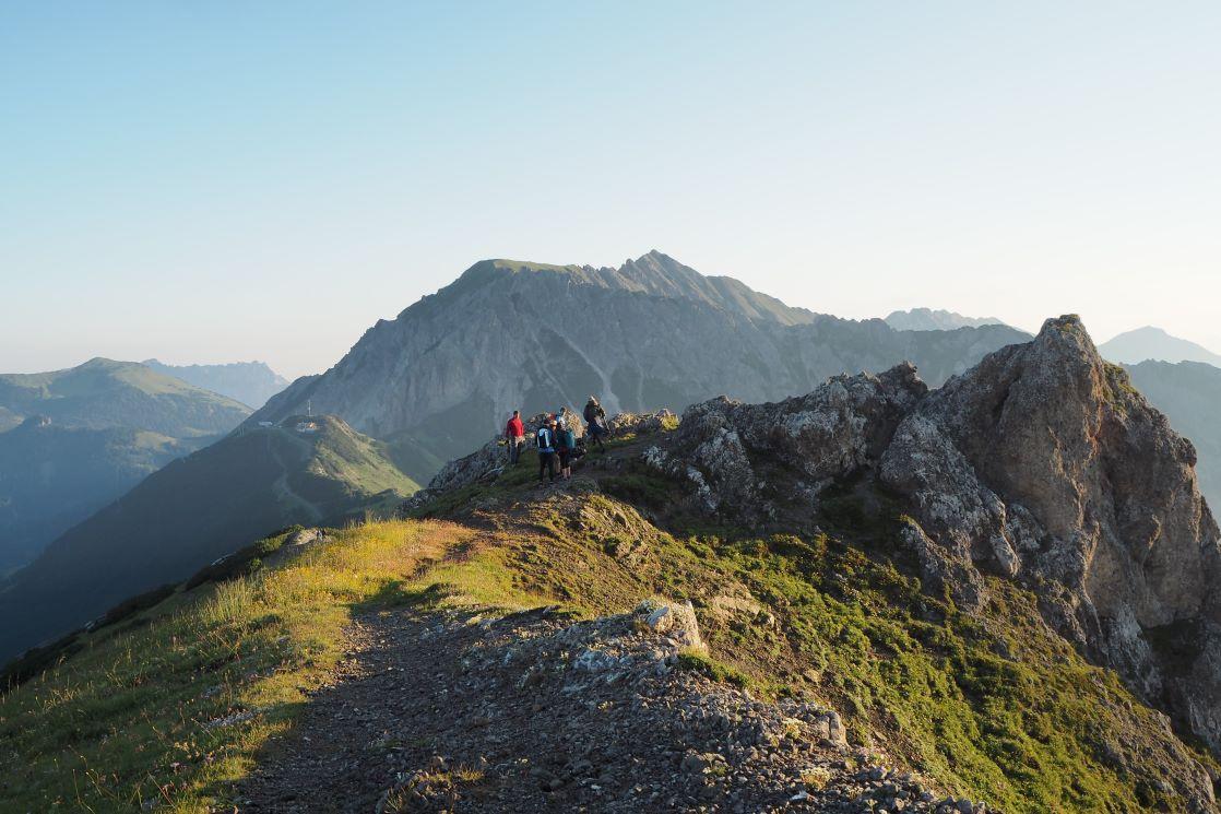 Herbst wandern Liechtenstein