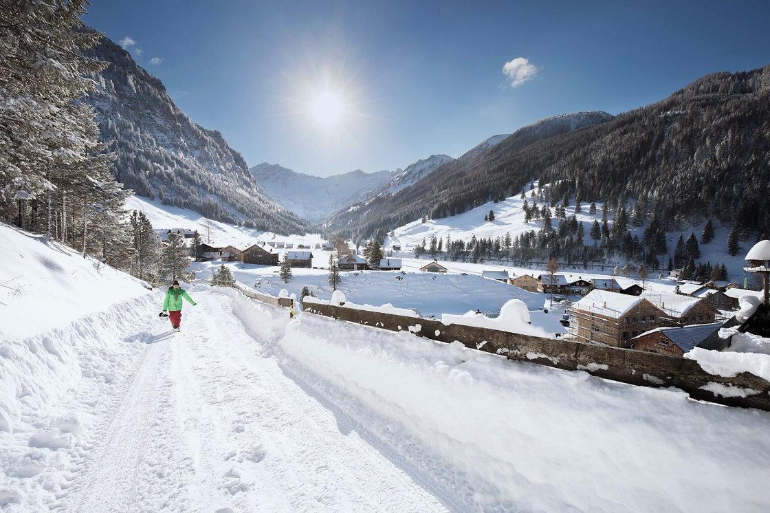 Wintererlebnisse in den Bergen