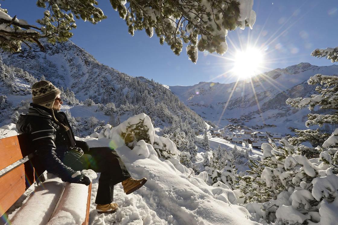 Winterurlaub Alpen Liechtenstein