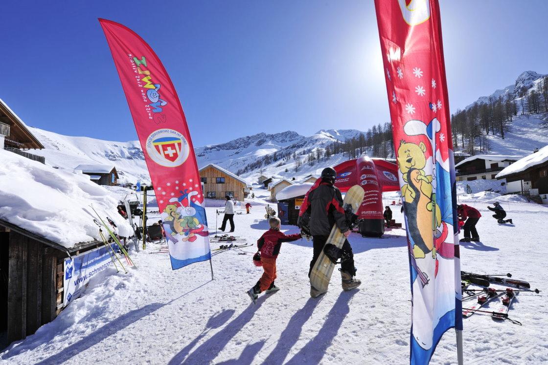 Skiurlaub mit Kindern, Familienskigebiet Malbun