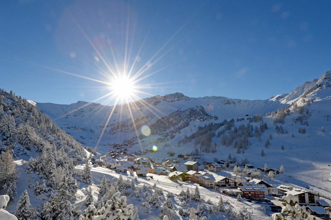Winterwandern Alpen Fürstentum Liechtenstein