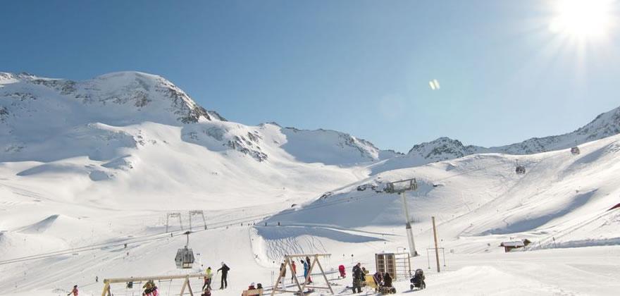 skifahren Kaunertal Österreich