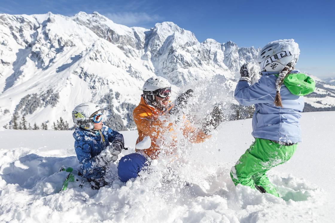 Skigebiet Hochkönig Familien Winterurlaub