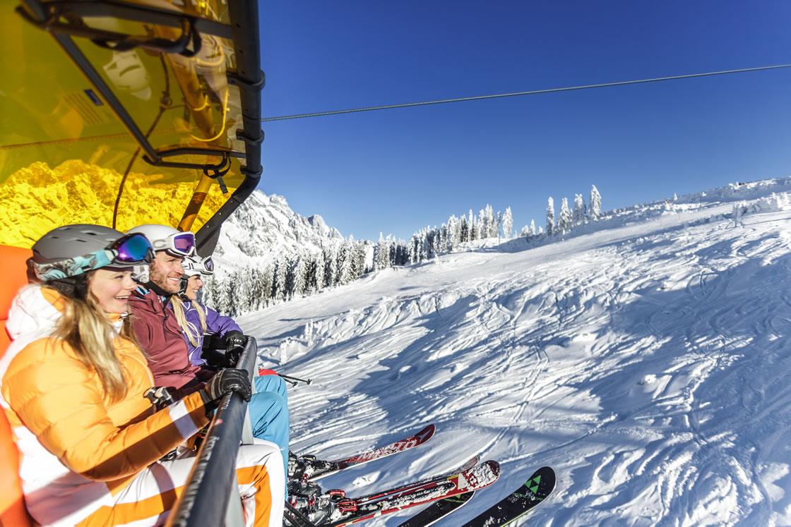 Skigebiet Hochkönig, Alpen Salzburger Land