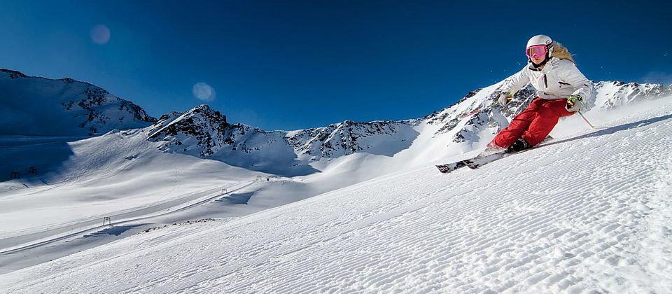 Schneehöhen Tirol Kauntertal