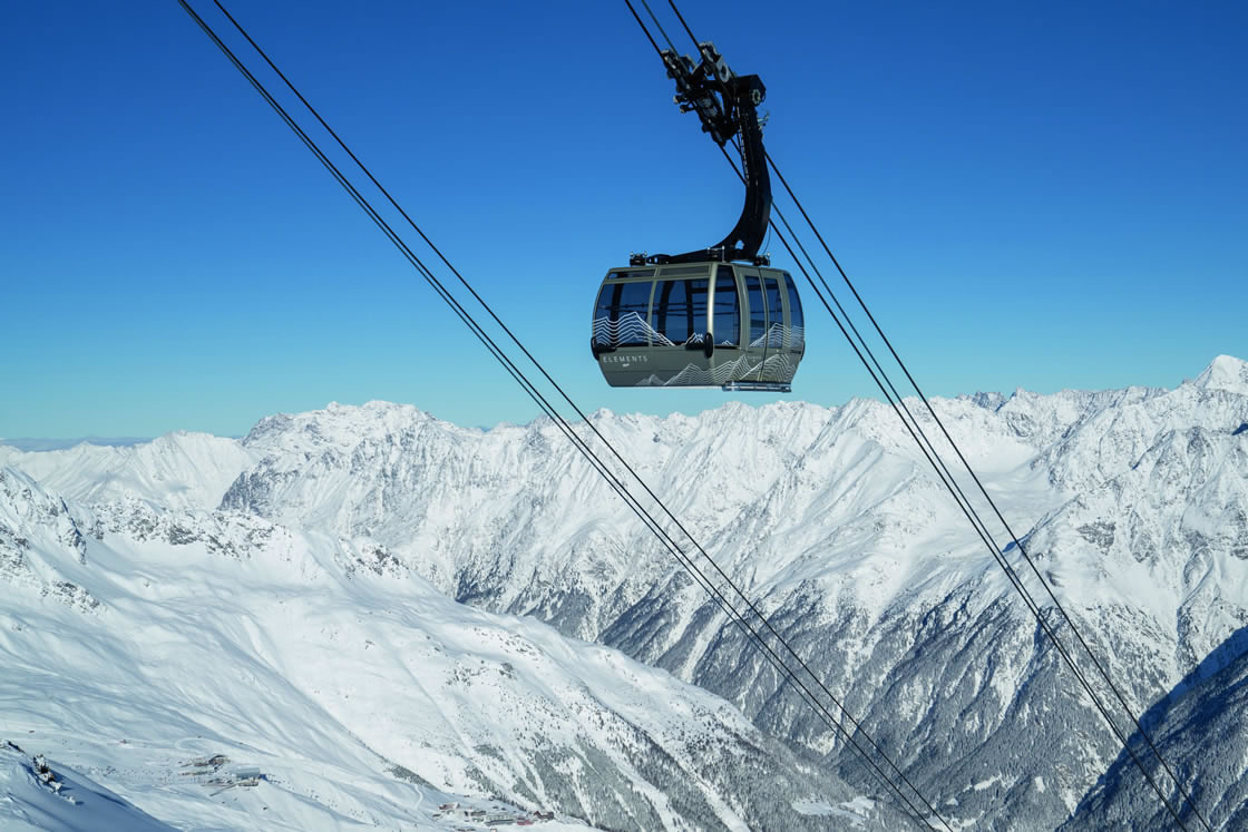 Skifahren Tirol, Skigebiet Sölden