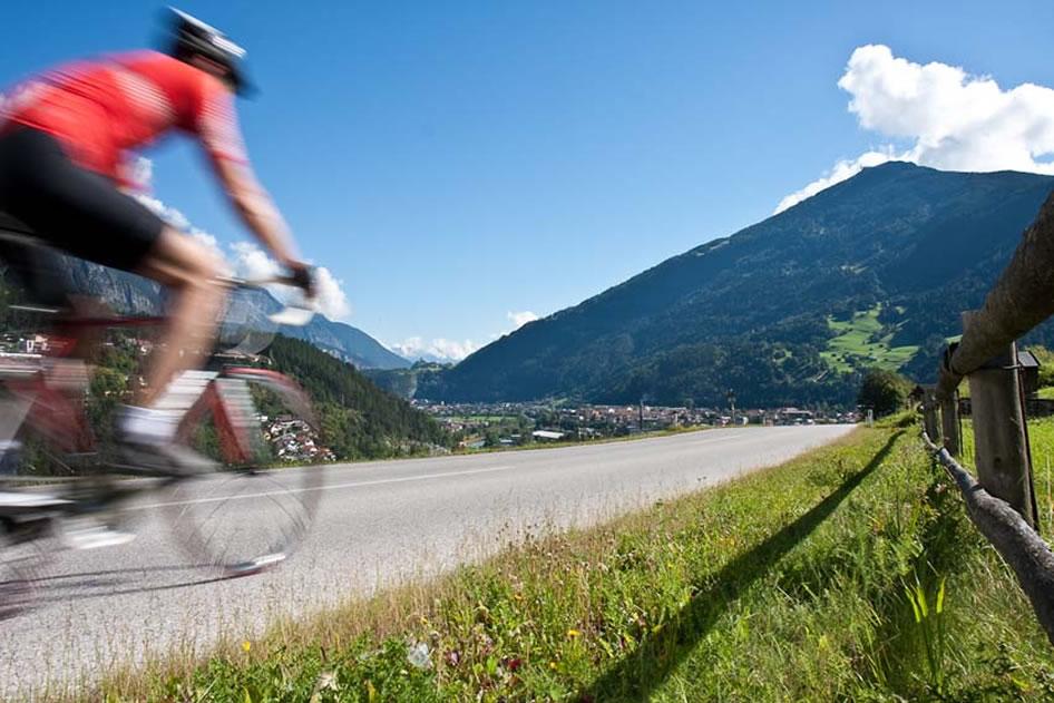 Alpenurlaub für Radsportler TirolWest