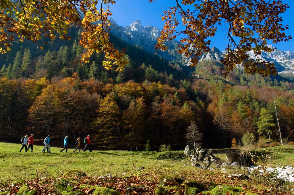 Nationalpark Kalkalpen Herbstwanderung