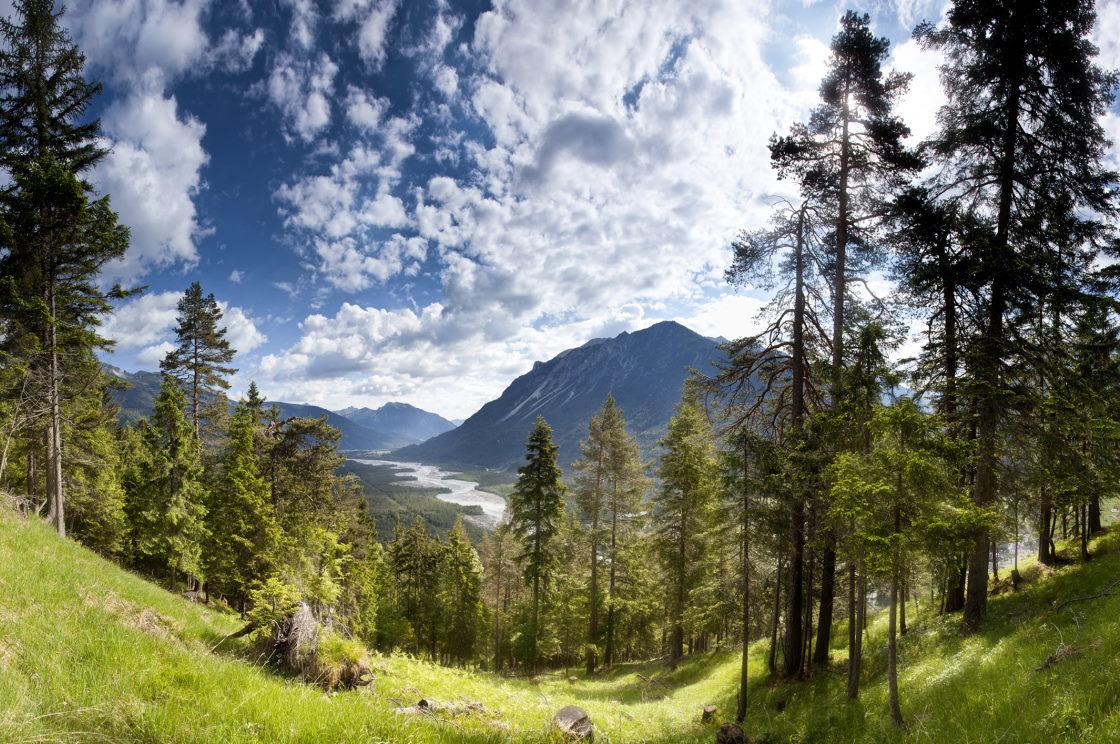 Rundwanderwege in der Naturparkregion Lechtal