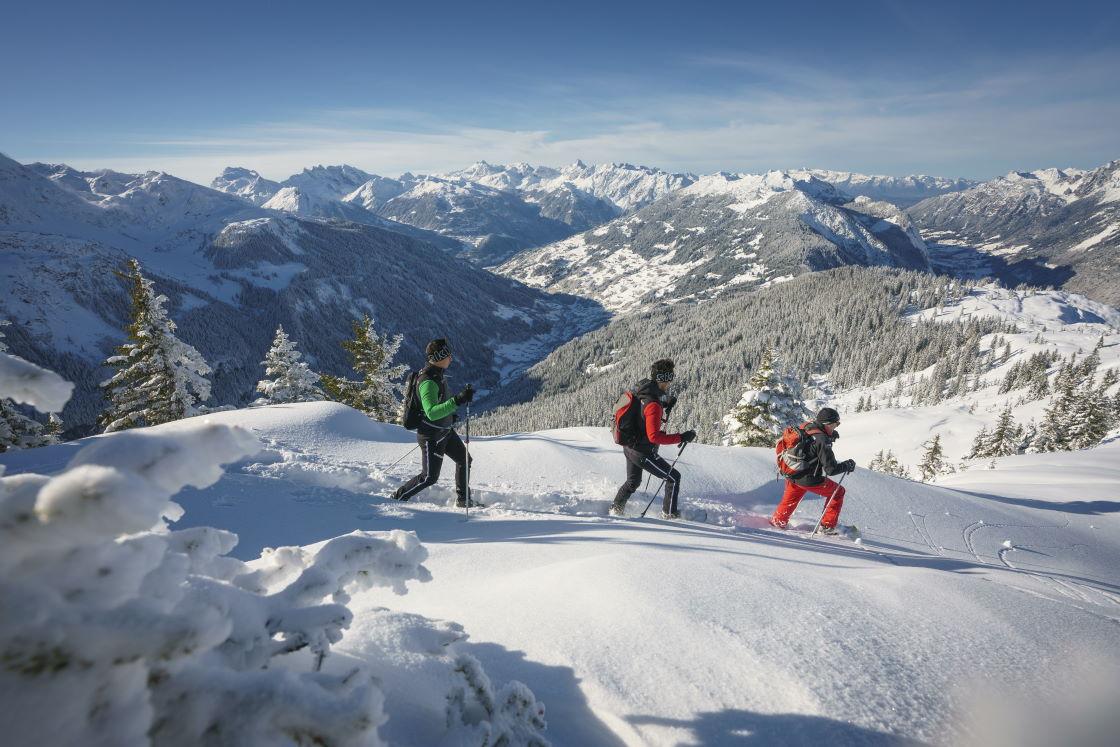 Schneeschuhwandern und Wintererlebnisse in Vorarlberg