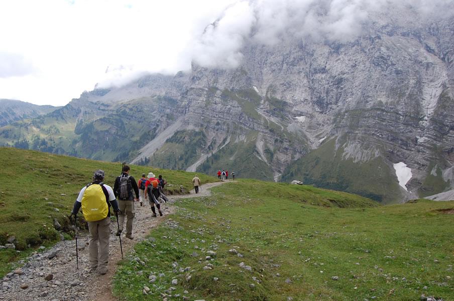 Wanderurlaub Olympiaregion Seefeld Karwendelmarsch