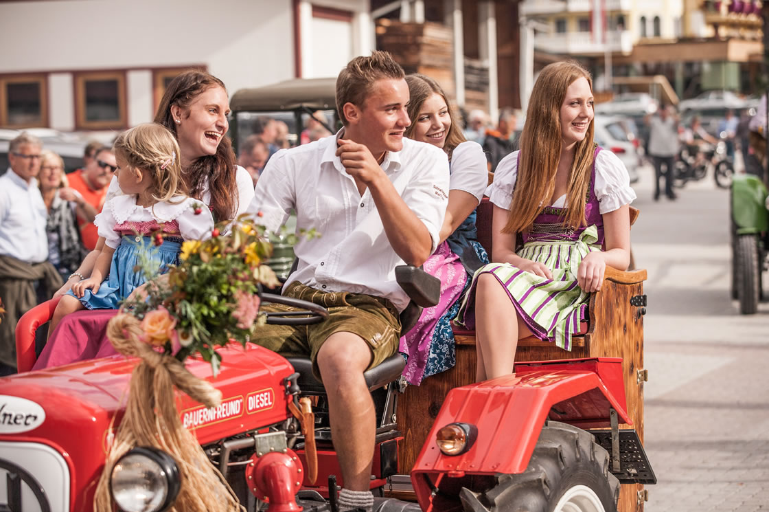 Herbstfeste Alpen Salzburger Land