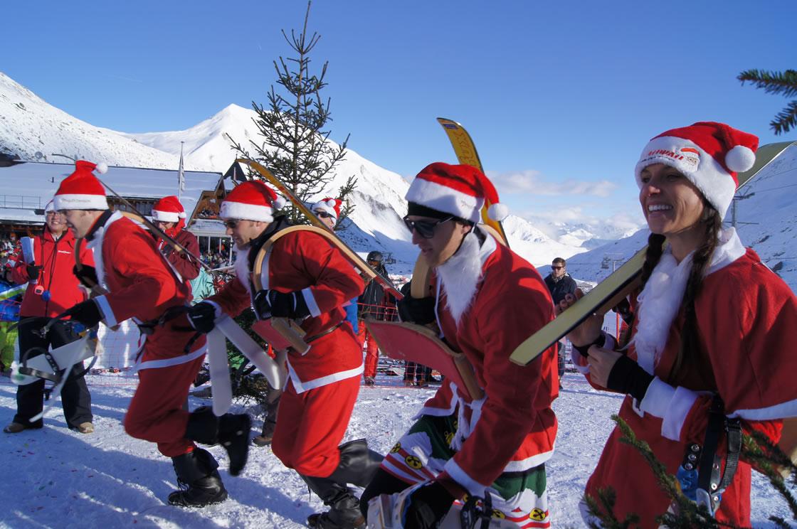 Skigebiet Samnaun-Ischgl