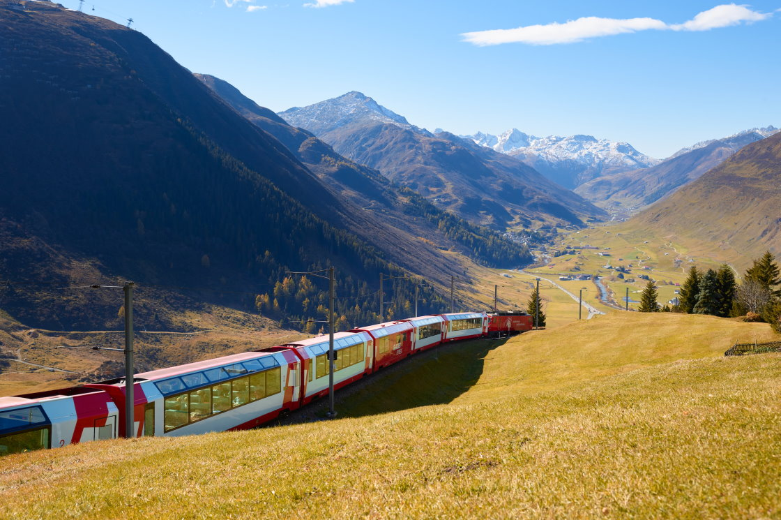 Panoramazüge Schweiz, Glacier Express