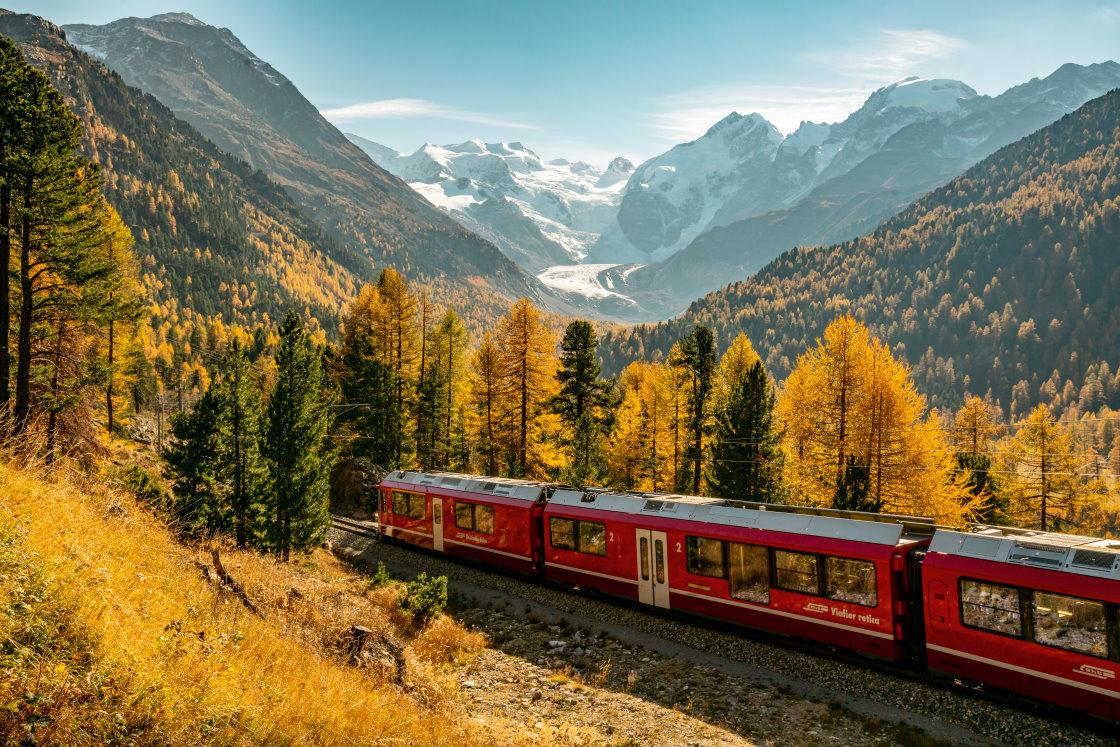Panoramazüge Schweiz, Glacier-, Bernina- oder Gotthard Panorama Express