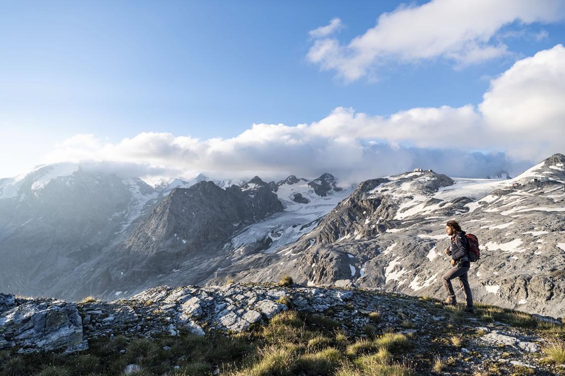 Neuer Hoehenweg in Südtirol, Stilfserjoch