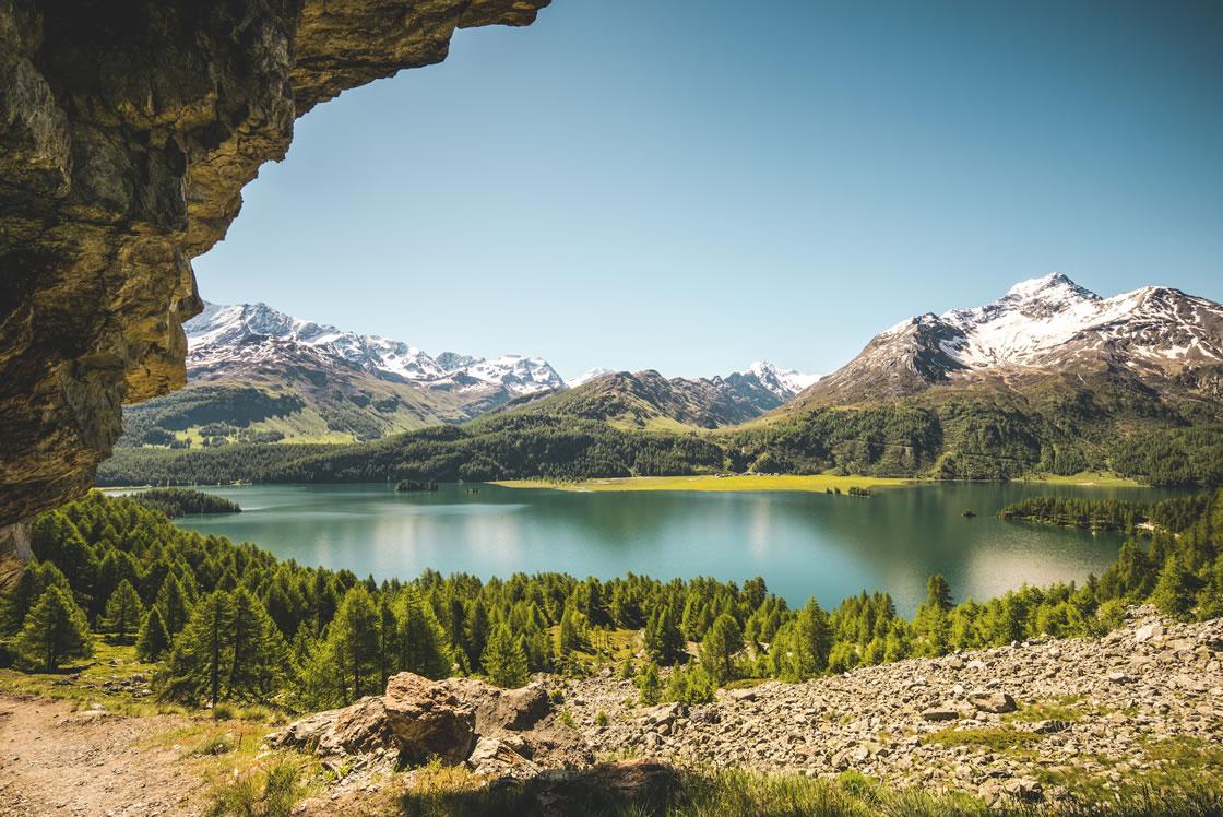 Bergseen Alpen Schweiz