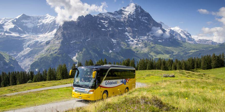 Erlebnisurlaub mit dem Bus in Grindelwald