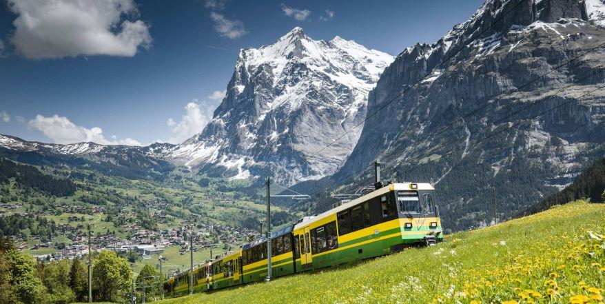 Urlaub Grindelwald mit dem Top of Europe Pass