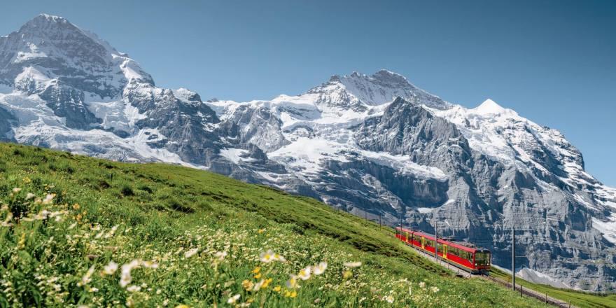 Sommerurlaub Schweiz mit Top of Europe Pass