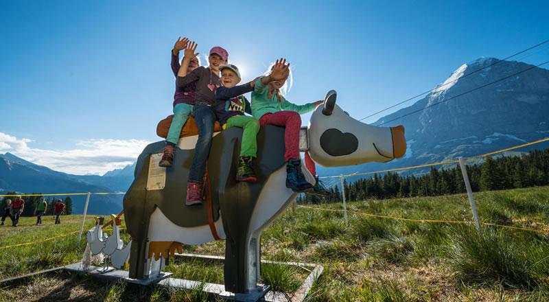 Familienurlaub in Grindelwald Schweiz